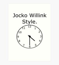 Jocko Willink Art Print