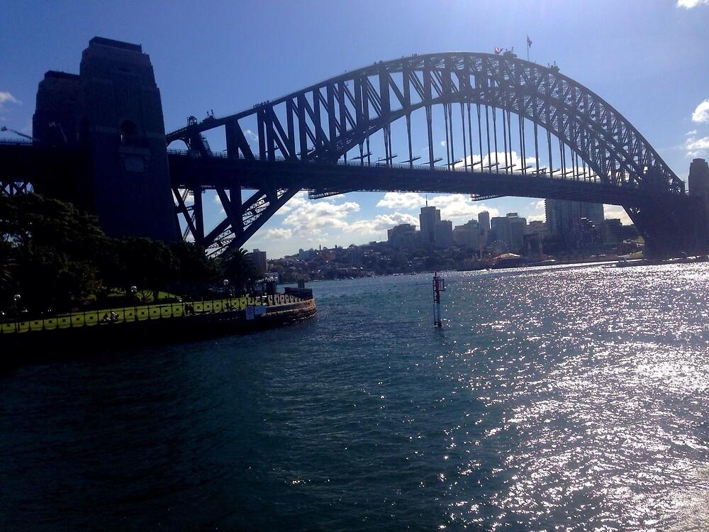 Harbour bridge  by Tyson Tauhore