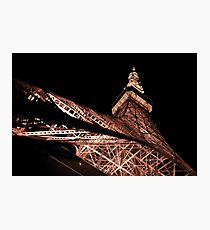 Tokyo Tower Photographic Print