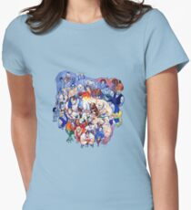 The Street Fighter Crew Womens Fitted T-Shirt