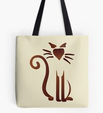 Chocolate Sam Tote Bag