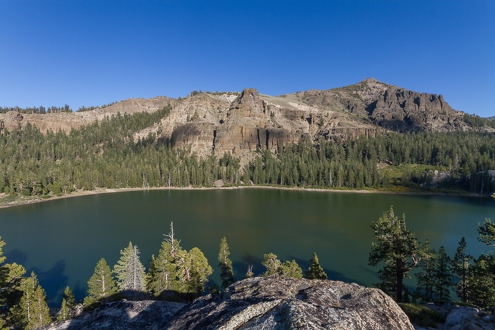 Round Lake - High Sierra by Richard Thelen