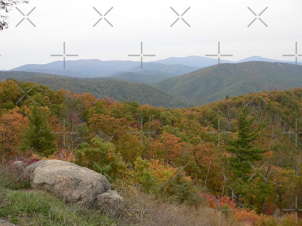 Colorful Virginia Mountains by kevint