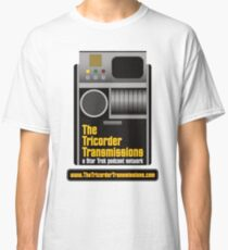 The Tricorder Transmissions Logo Classic T-Shirt