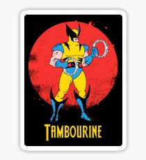 Tambourine Sticker