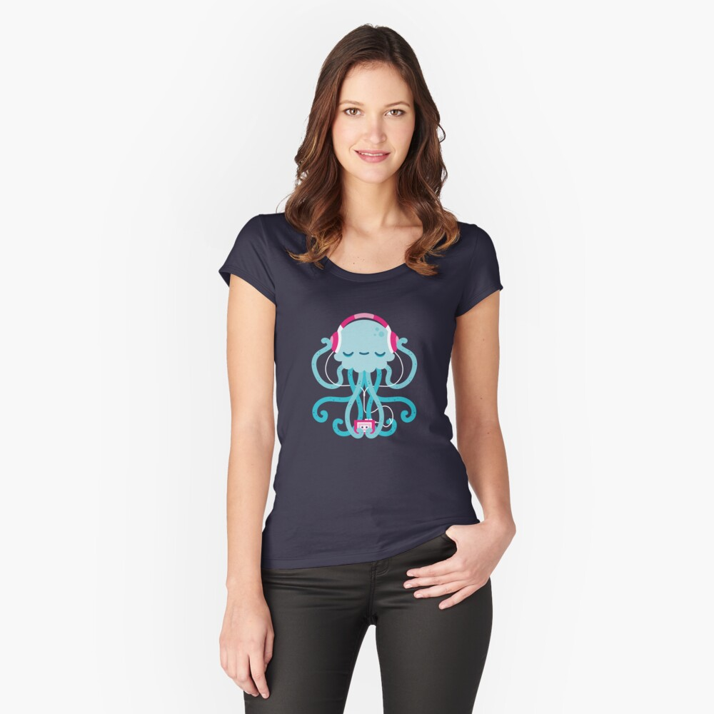 Jelly Jam Women's Fitted Scoop T-Shirt Front