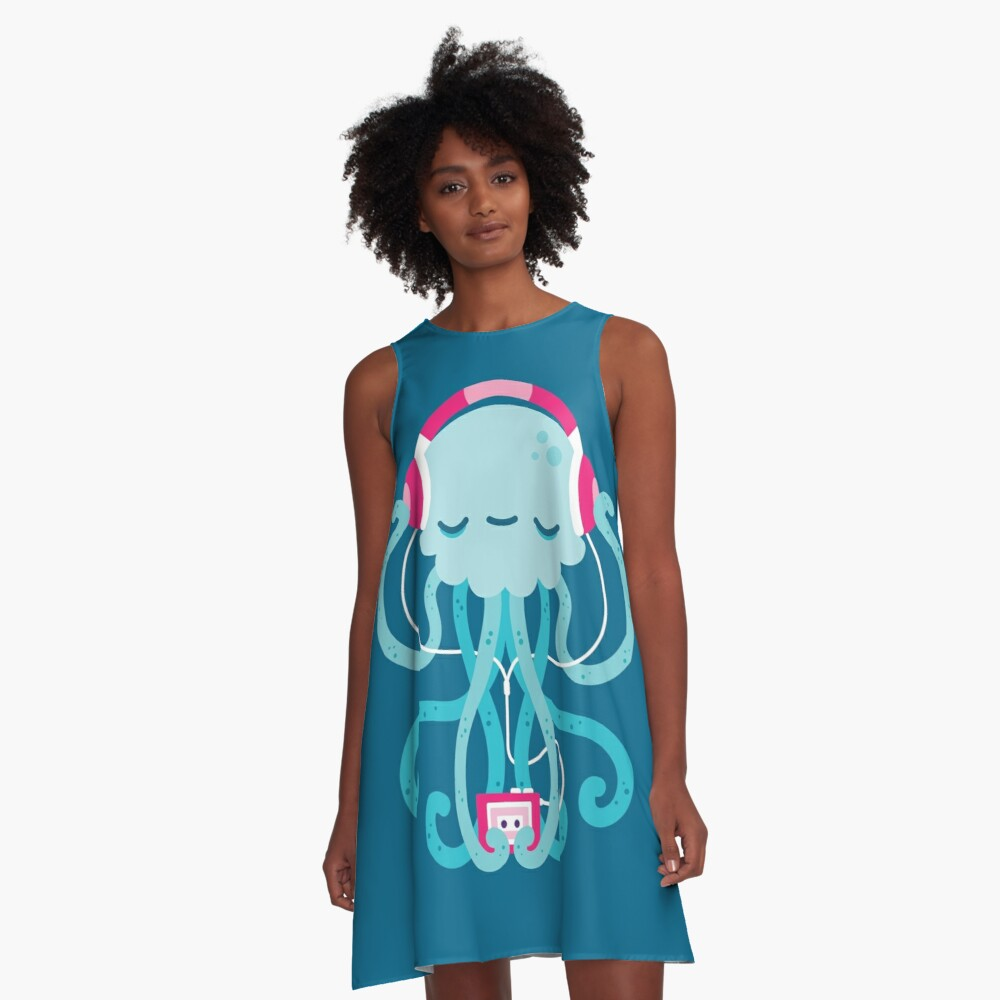 Jelly Jam A-Line Dress Front