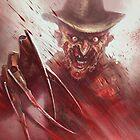 Freddy Krueger by Austen Mengler