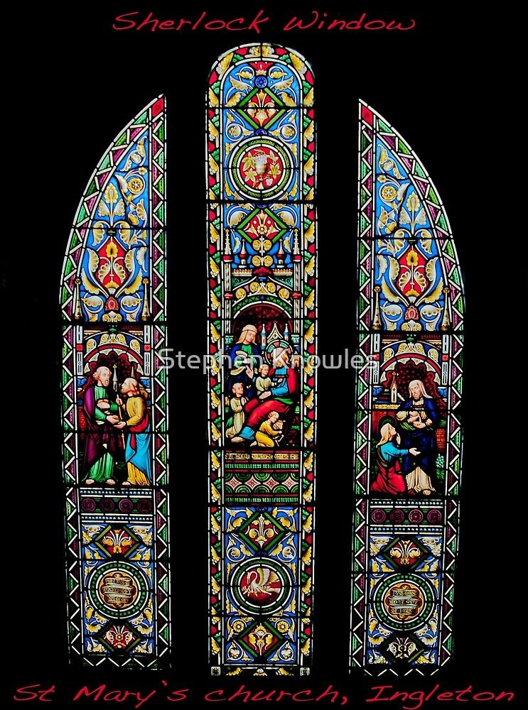 Sherlock Window by Stephen Knowles