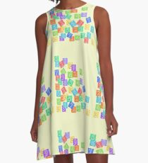 Numerology A-Line Dress