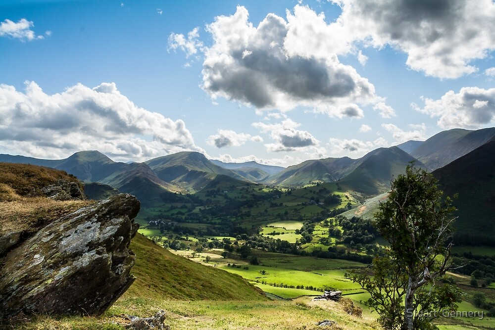 View from Cat Bells by Stuart  Gennery
