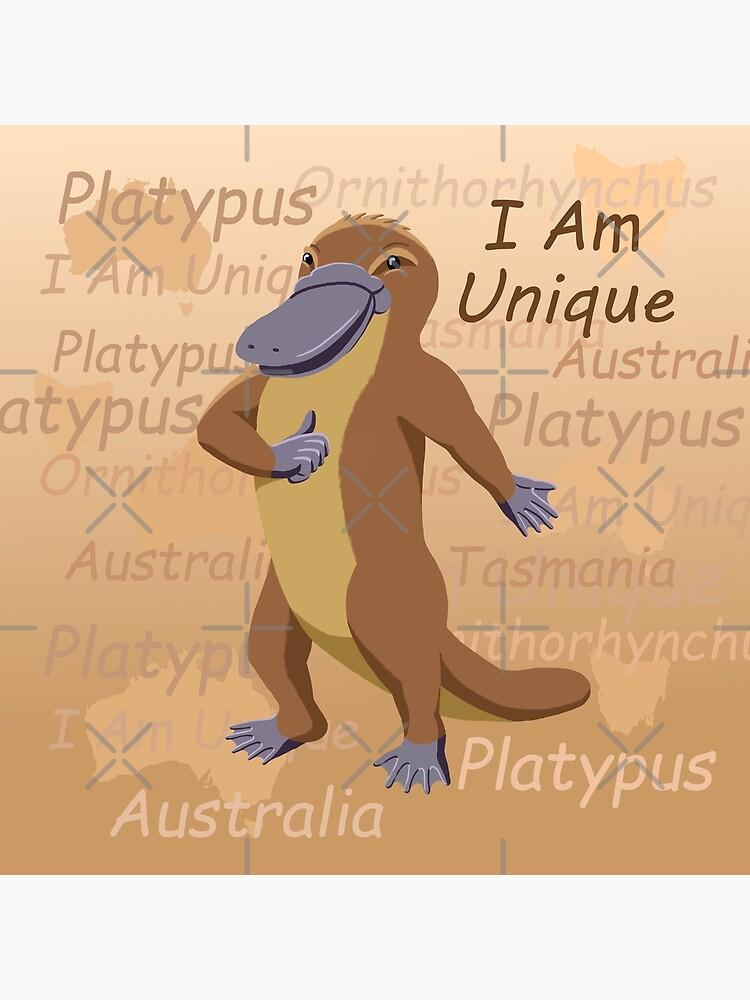 Platypus - I Am Unique by JumpingKangaroo