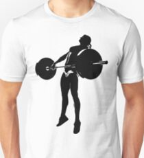Crossfit - Girl Snatch Unisex T-Shirt