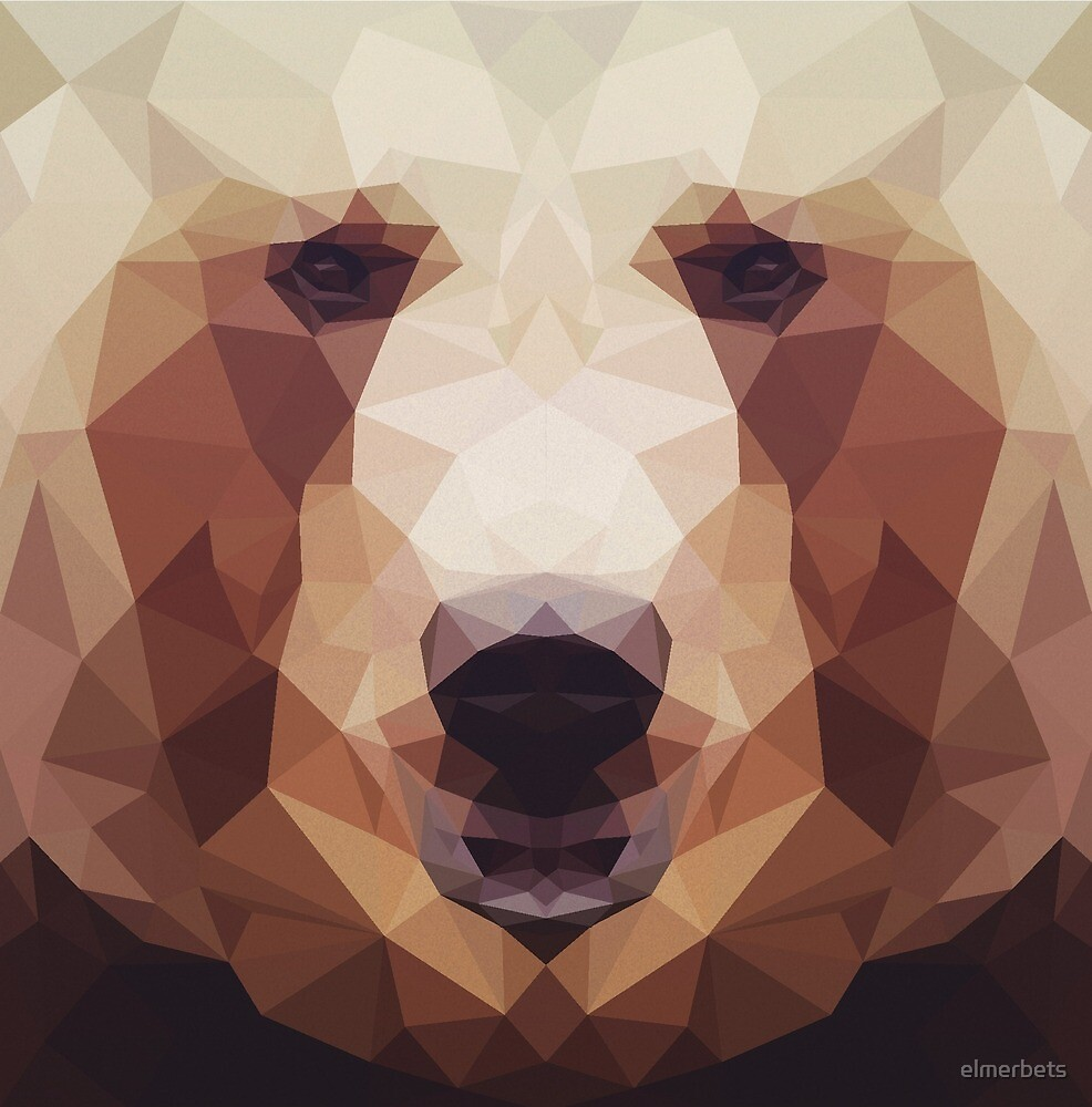 Low Poly Bear by elmerbets