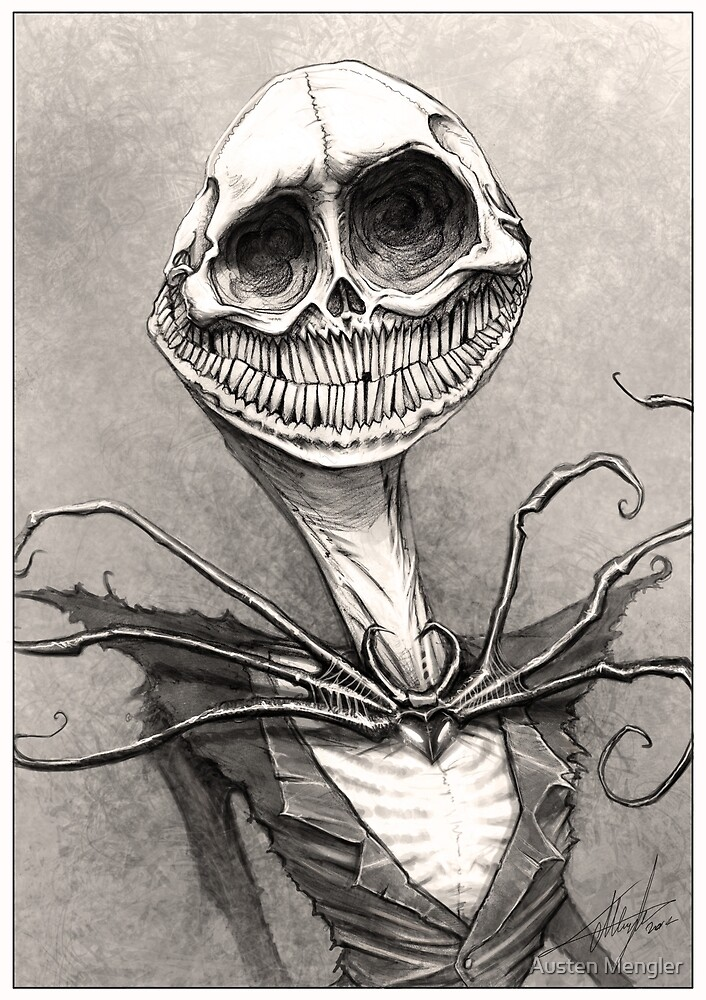 Jack Skellington by Austen Mengler