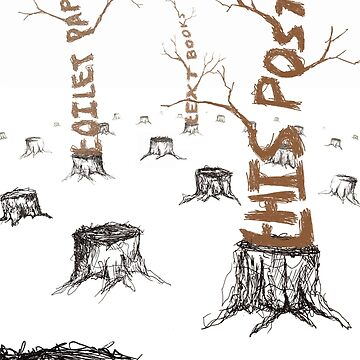 Anti-Deforestation Poster by cmisak