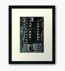 Fuse and Breaker Box Framed Print