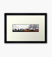 Wildfire Framed Print