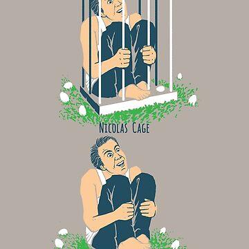 Nicolas Cage Nicholas Free Range Nic Cage Rage by 6amCrisis