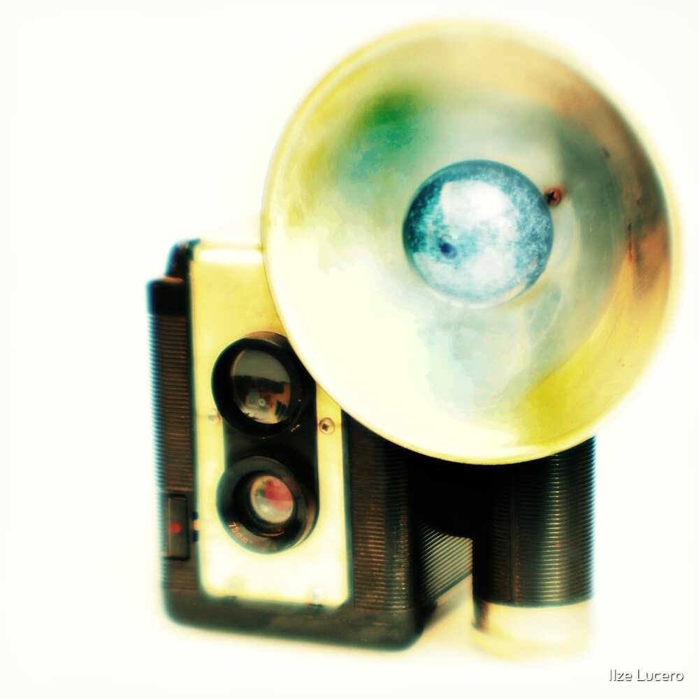 Vintage camera by Ilze Lucero