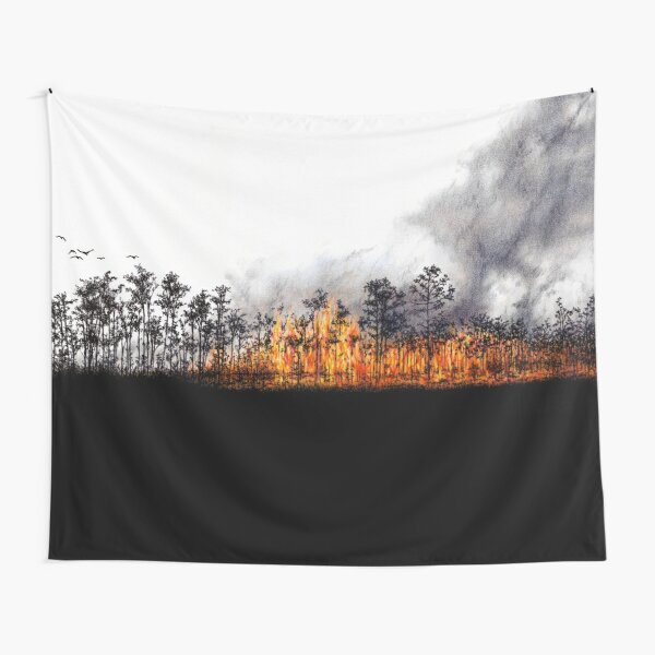 Wildfire Tapestry