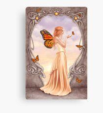 Citrine Birthstone Fairy Canvas Print