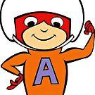 Atom Ameise, die geheime Eichhörnchen-Show von RainbowRetro