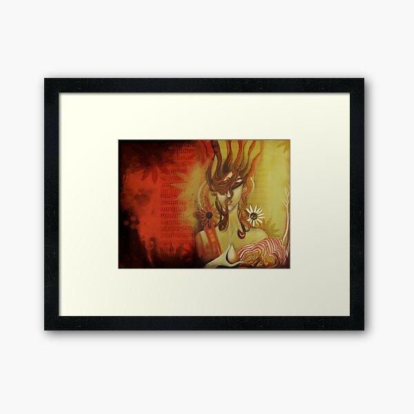 Adhya-2 Framed Art Print