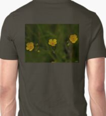 Three Meadow Buttercups - Burntollet Woods, County Derry T-Shirt