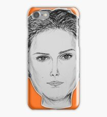 (The Most Beautiful Woman - Natalie Portman) - yks by ofs珊 iPhone Case/Skin