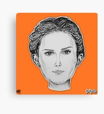 (The Most Beautiful Woman - Natalie Portman) - yks by ofs珊 Canvas Print