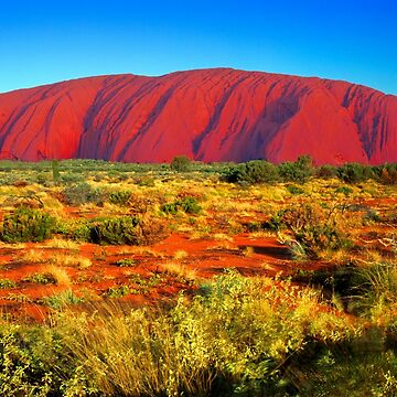Ayers Rock by markhiggins