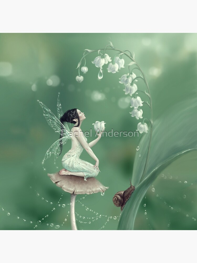 Lily of the Valley Flower Fairy by silverstars