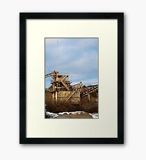 Mining Equipment and Conveyors 2 Framed Print