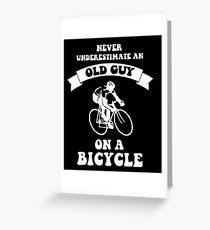 hip bicycle Greeting Card