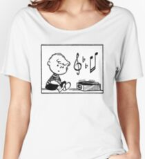 Music Peanuts Women's Relaxed Fit T-Shirt