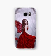 Winter Rose Butterfly Fairy Samsung Galaxy Case/Skin
