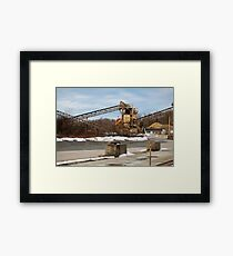 Mining Equipment and Conveyors Framed Print
