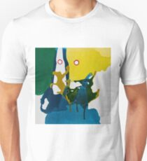 Dance in Blue and Green I Unisex T-Shirt