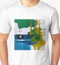 Dance in Blue and Green II Unisex T-Shirt