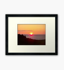 Nova Scotia Sunset Framed Print