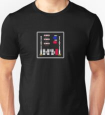 Control Panel - Return Of The Jedi (Darth Vader) - T-shirt T-Shirt