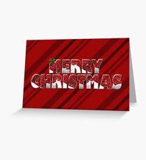 "Snow Globe ""Merry Christmas"" Print Greeting Card"