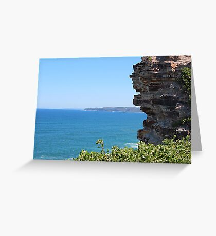 South from King Edward Park Greeting Card