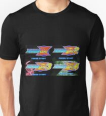 Mega Man Zero Title Screens Unisex T-Shirt
