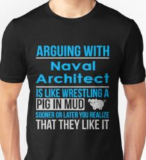 NAVAL ARCHITECT - TSHIRT, HOODIE AND GIFT Unisex T-Shirt