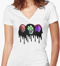 Zombiez Women's Fitted V-Neck T-Shirt