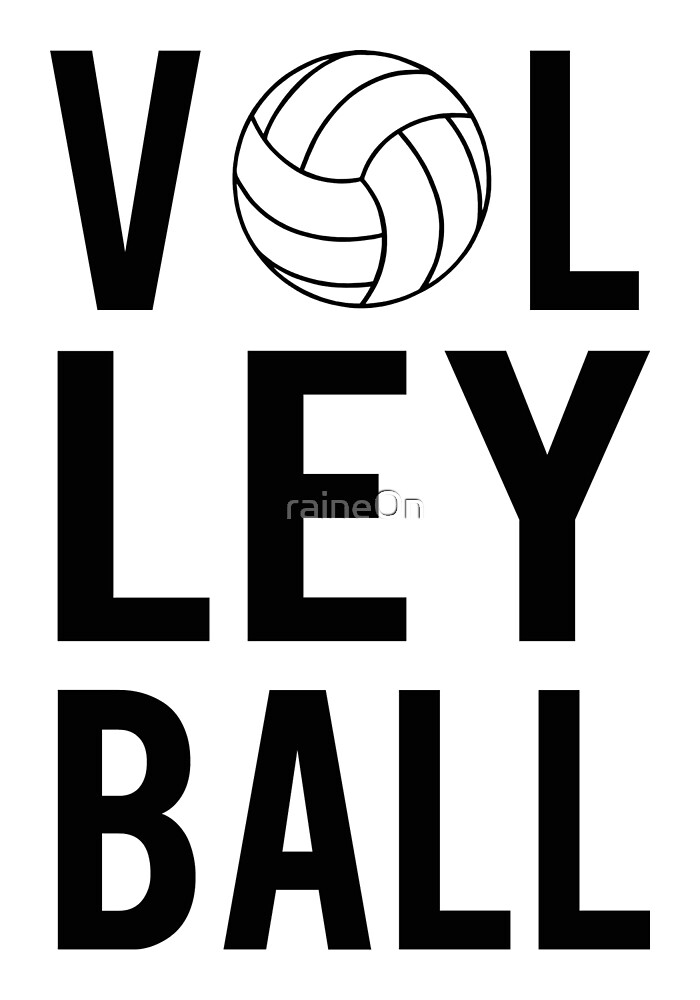 Volleyball (black) by raineOn