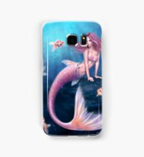 Aurelia Goldfish Mermaid Samsung Galaxy Case/Skin