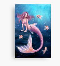 Aurelia Goldfish Mermaid Canvas Print
